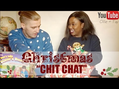 CHRISTMAS CHIT CHAT - Ollie + Tay (Vlogmas)