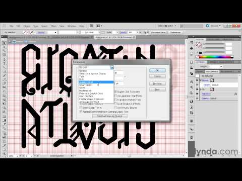 070 Making a two word ambigram