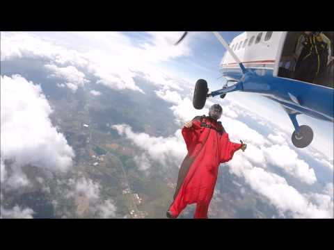 Wingsuit Back Flying