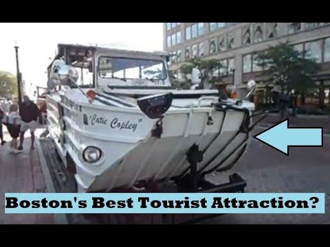 Boston Duck Tour - Financial District, Public Garden, North End, Charles River