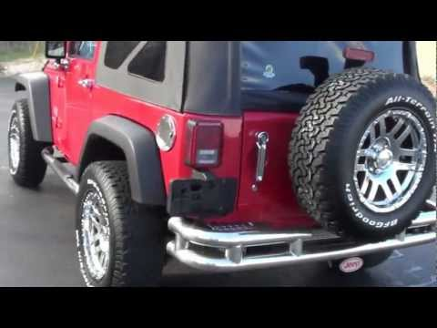 FOR SALE 2008 JEEP WRANGLER!! 1 OWNER!! ONLY 15K MILES!! STK# P6052 www.lcford.com