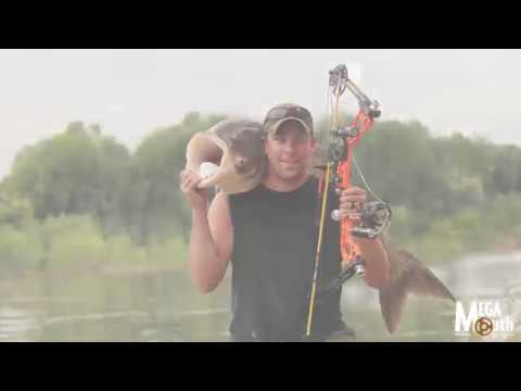 New MegaMouth bowfishing reel REVEAL video!