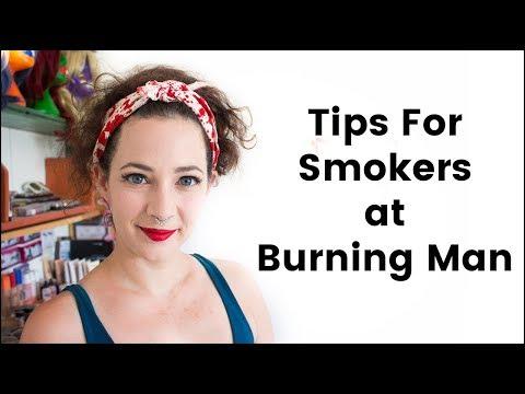 Tips for Smokers at Burning Man
