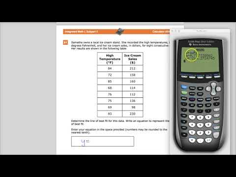 Question 21 - Integrated Math 1  - TNReady Practice Test