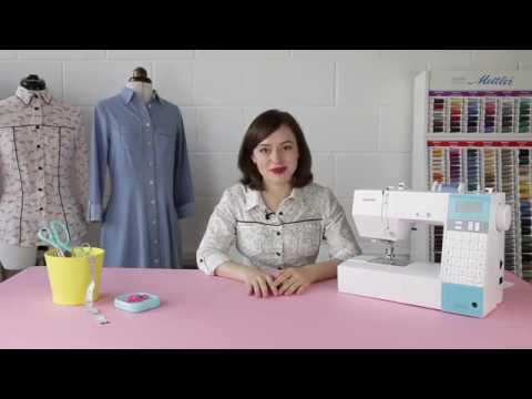Sew Your Own shirt or Shirt Dress - online video workshop