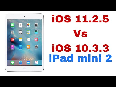 iOS 11.2.5 vs iOS 10.3.3 Speed test on ipad mini 2 | TechViewer