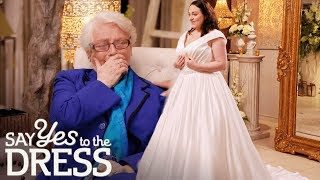 New Mother Is Worried About Fitting in a Wedding Dress   Say Yes To The Dress Ireland