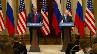 Putin Denies Russian Inteference in US Election
