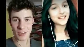 Treat You Better Shawn Mendes And 11 Year Old Julie Bella Smule Duet Singwithshawn Singwithlg