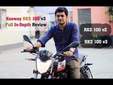 Keeway RKS 100 v3 Full In-Depth Review & RKS 100 v2 vs RKS 100 v3