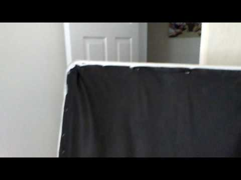 Fixing a squeaky box spring pt 6