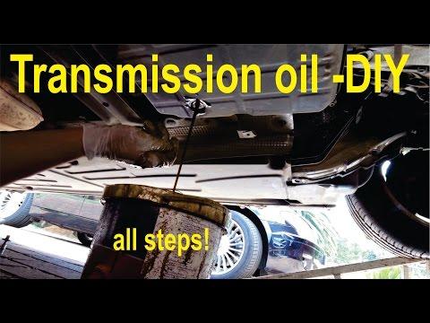 Transmission oil flush (Partial) - all steps - home DIY (C-class & E-class W203, W210 -722)