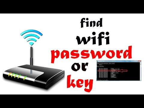 How To Find WiFi Password Using CMD Of All Connected Networks