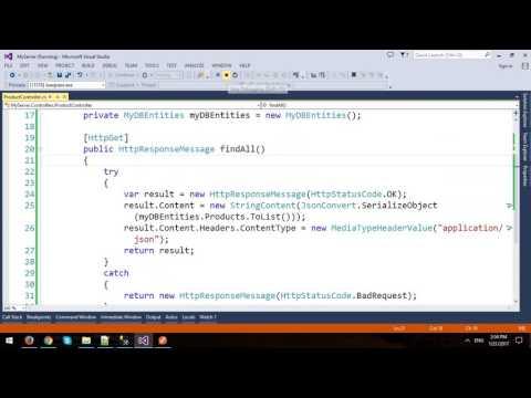 Test CRUD in ASP.NET Web API with Chrome Postman