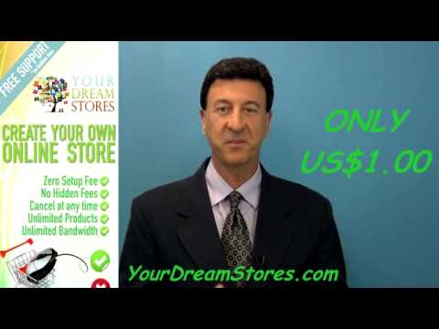 How to Create or start your own online web store, Shop, setting up your Online  business, website