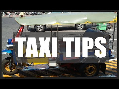 Thai Taxi Drivers - Tips for Staying Alive 🇹🇭 Thailand Living