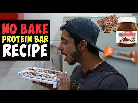 Easiest Homemade PROTEIN BAR Recipe for Gaining Muscle | AESTHETICALLY