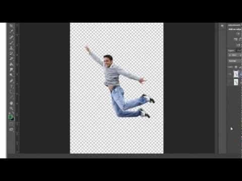 Adobe Photoshop CS6 Tutorial  :- Quick Selection Tool Making image background Transparent