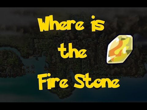 Where Is: The Fire Stone (Pokemon Heart Gold/Soul Silver)