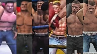 WWE 2K17 - John Cena Attitude Adjustment Evolution! ( Here Comes The Pain to WWE 2K17 )