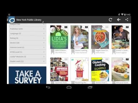 Downloading NYPL eBooks with Android Tablets