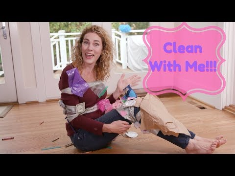 How to Clean the House with Duct Tape | Parenting Hacks