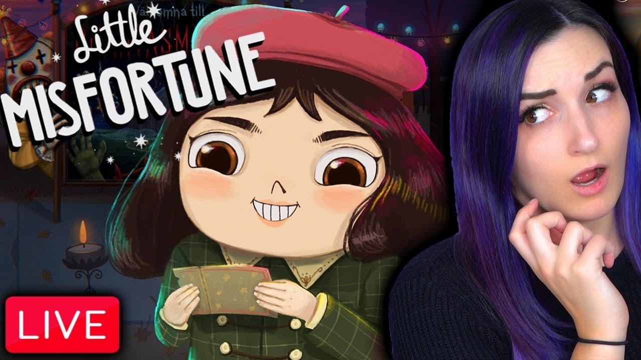 CUTEST Yet DARKEST Game I've EVER Played | Little Misfortune (Part 1)