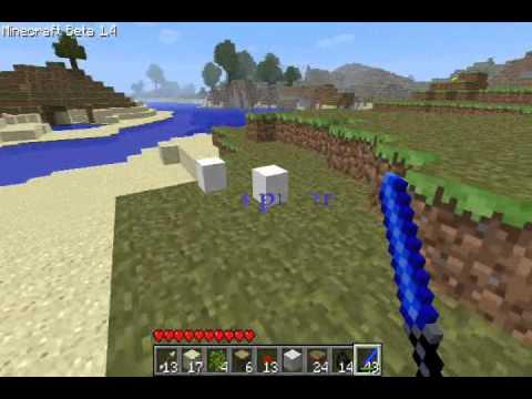 Minecraft Lightsaber