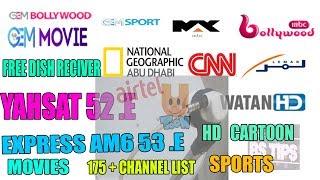 Yahsat 52 paksat R1 - Love To Your Videos