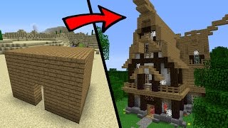 How To Build Herobrines Family House In Minecraft With Building Ideas
