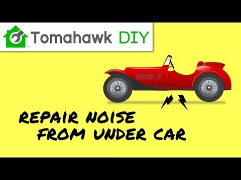 Repair Plastic Under Car Scraping Noise