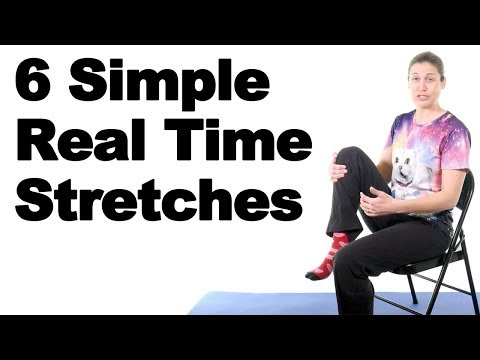 6 Simple Office Stretches in Real Time - Ask Doctor Jo