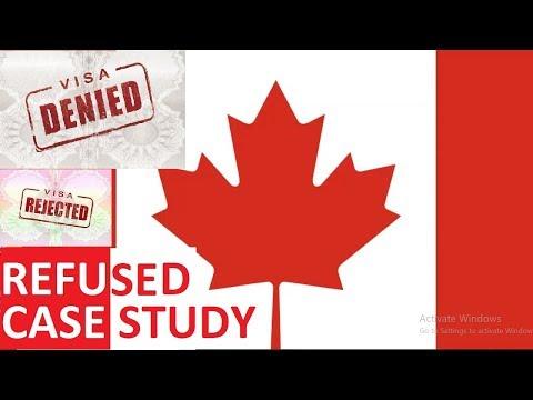 CANADA VISA REJECTION 2018 Reasons