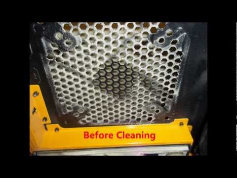 How to clean out a pc case with compressed air & shop vac Part 2