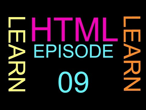 Episode 09 how to make Bold and italic text in HTML