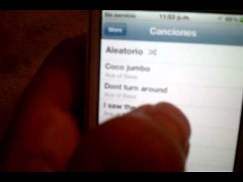 Delete songs directly on your Iphone Ipod with IOS 5.0.1