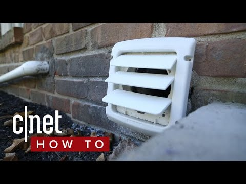 How to clean your dryer vent (CNET How To)