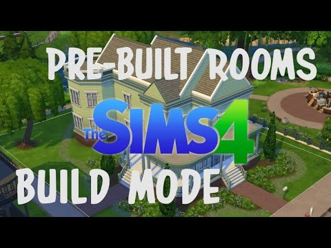 The Sims 4 | Pre-Built Rooms and Build Mode
