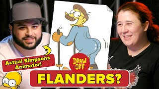 Animator Vs. Cartoonist Draw Simpsons Characters From Memory