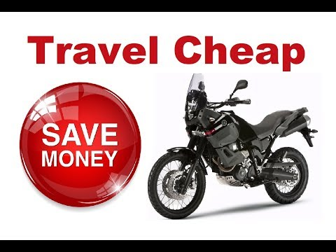 Motorcycle Trip - How to Travel Cheap? - 10 Proven Tips!
