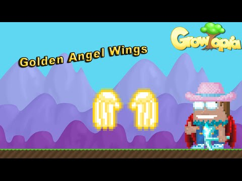 Growtopia - Making Golden Angel Wings!