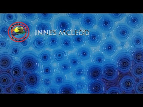 Fine art tips on Acrylic Art with Innes McLeod on Colour In Your Life