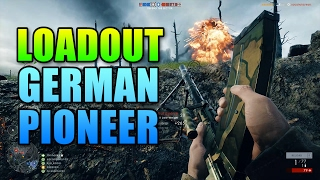 Loadout German Pioneer Elite Infantry | Battlefield 1 Madsen Gameplay