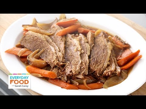 Slow-Cooker Brisket for Passover - Everyday Food with Sarah Carey