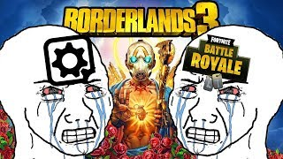 Borderlands 3 Defenders and Fortnite (Epic Games) Fanboys are Salty