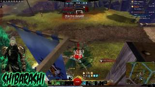 Gw2 Crazy Hybrid Scourge Wvw solo roaming vol 3 -Outnumbered