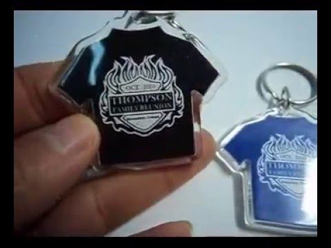 Family Reunion Favors - T-Shirt Key Chain