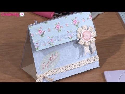 Handmade Paper Gift Bag Tutorial   docrafts Creativity TV