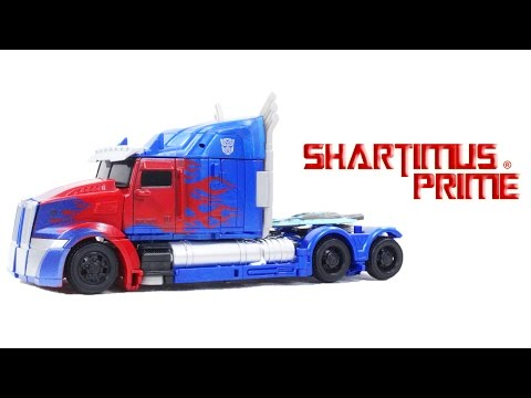 Transformers Optimus Prime The Last Knight Movie Voyager Class Action Figure Toy Review