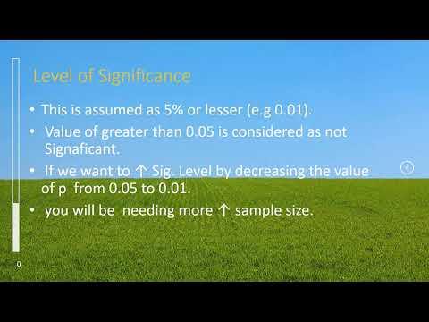 Sample size estimation for descriptive / cross-sectional / survey studies